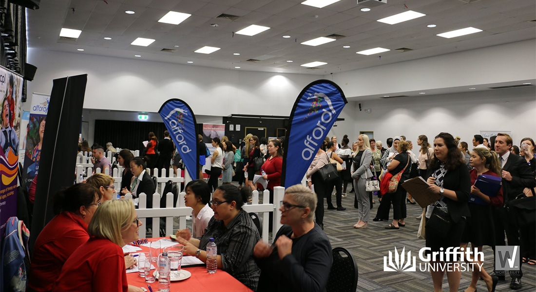 WorkAbility Qld Gold Coast Jobs Roadshow – Griffith University 30th April 2018